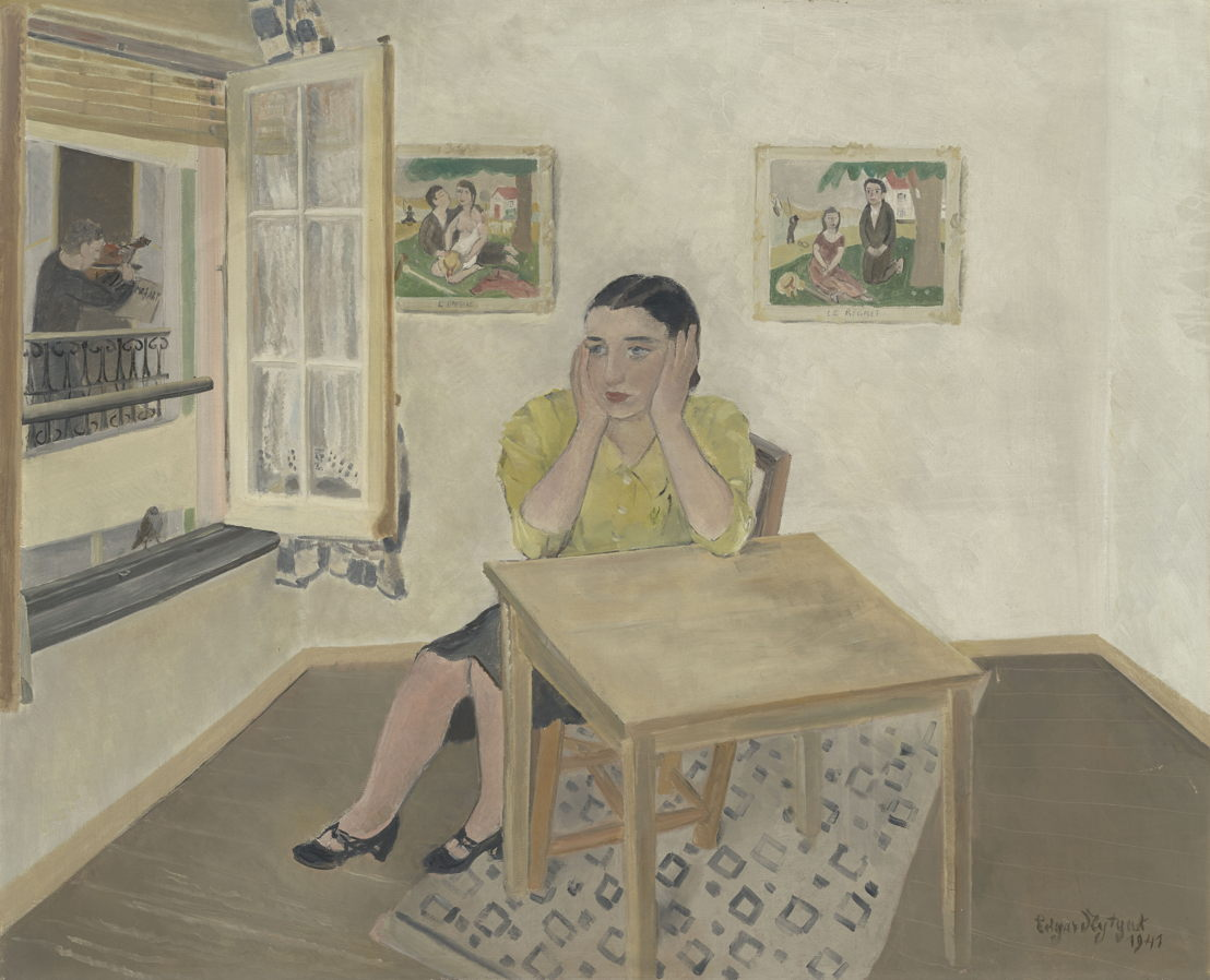 Edgard Tytgat, L'envie et le regret, 1941, privécollectie<br/>©Dieter Daemen<br/><br/>(c) SABAM Belgium 2017