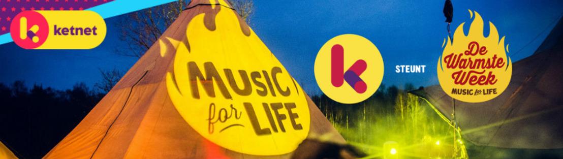 Music for Life: Ketnet steunt Netwerk tegen Armoede en zoekt de coolste acties voor De Warmste Week