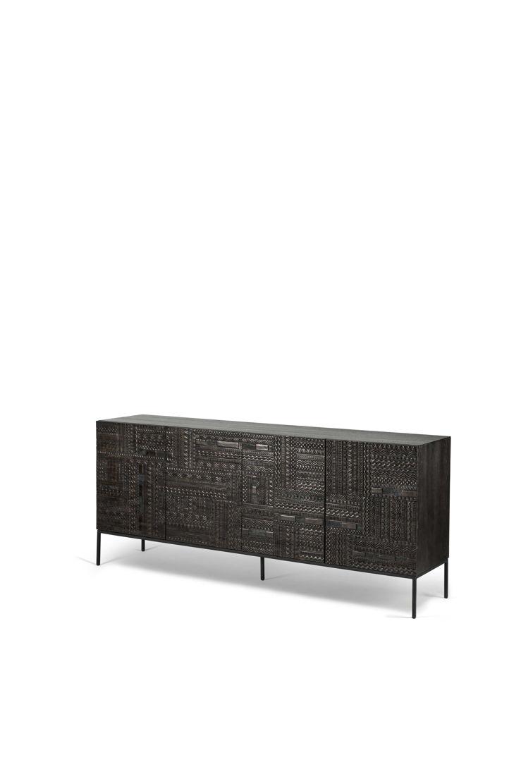 Ancestors Tabwa sideboard - 4 doors - 200x45x85cm