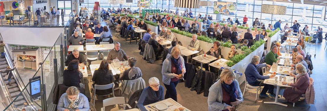 IKEA Hasselt viert eerste verjaardag met bezoekers en medewerkers