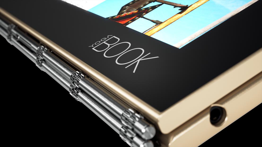 Lenovo vindt het tablet concept opnieuw uit met revolutionaire Yoga™ Book
