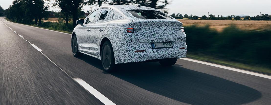 ŠKODA ENYAQ COUPÉ iV : l'électromobilité au summum de l'élégance