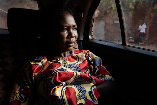 PHOTO STORY: A patient journey in Bangui, Central African Republic, amid post-electoral violence