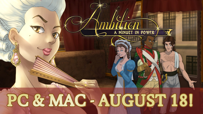 Experience a Romantic Revolution When Ambition: A Minuet in Power Arrives on Steam