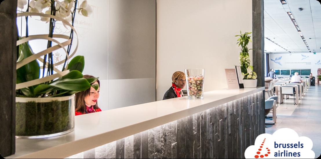 Brussels Airlines ouvre un nouveau salon à Brussels Airport