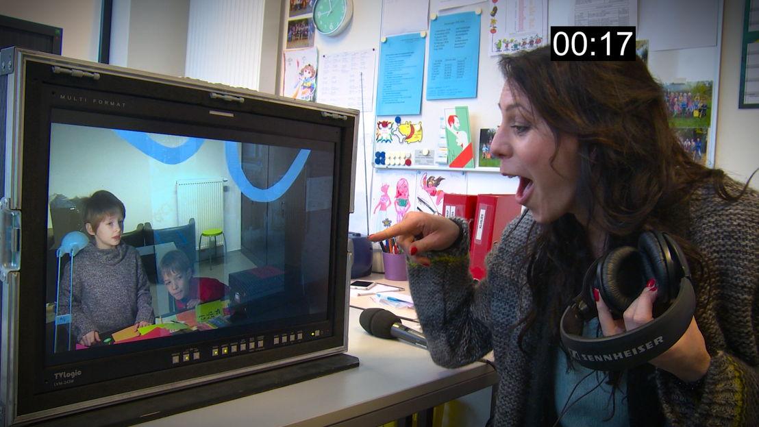 Kristel volgt candid camera-opname - (c) Sylvester