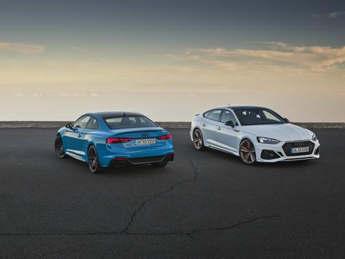 Verfijnd: update voor RS 5 Coupé en RS 5 Sportback