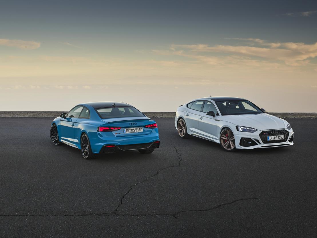Perfectionnées : mise à jour pour les RS 5 Coupé et RS 5 Sportback