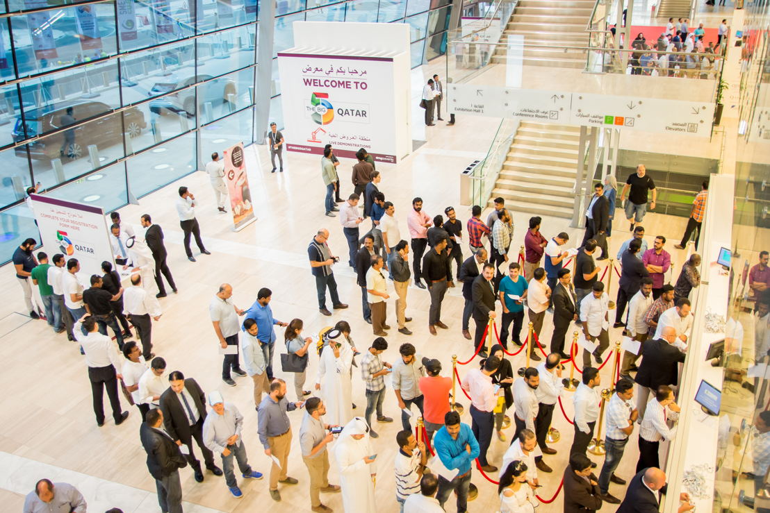 Crowds at The Big 5 Qatar