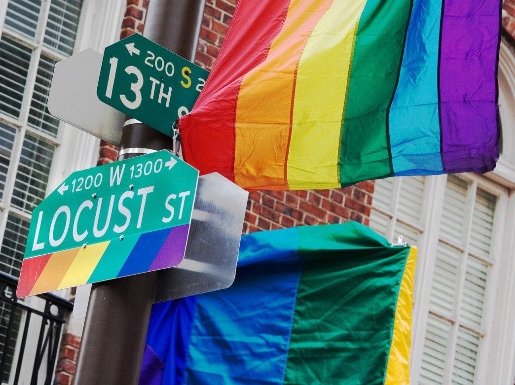Philadelphia presume con orgullo su Gayborhood.