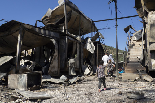 GREECE: All people in Moria camp must be evacuated after a destructive fire