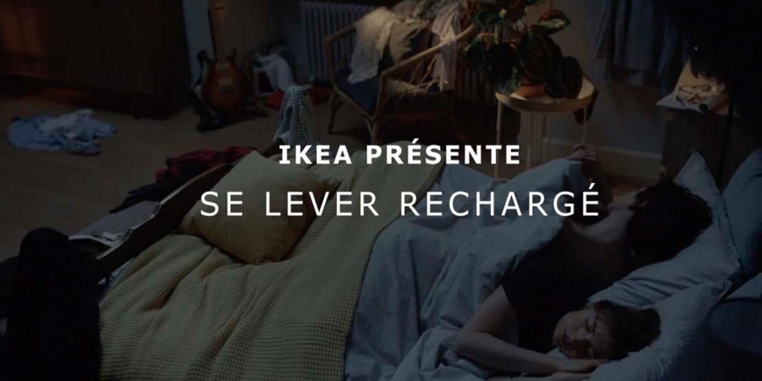 Pour IKEA et DDB : une bonne journée commence par une bonne nuit