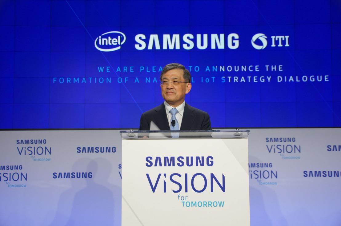 Samsung kondigt visie voor mensgericht Internet of Things aan en investeert 1,2 miljard dollar in R&D voor IoT