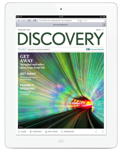Cathay Pacific Expands Flagship Inflight Magazine, DISCOVERY, Into A Multi-Channel Communication Platform