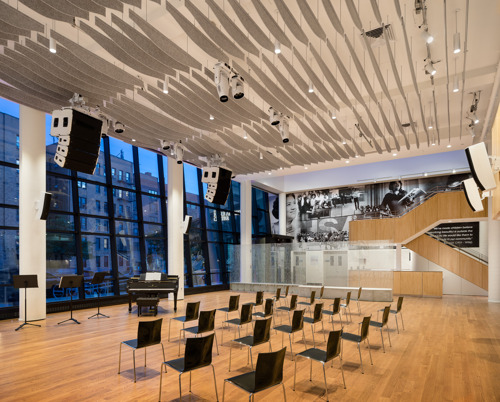 Vision of the Future: Harlem School of the Arts Unveils Stunning New Performance Space Designed by Walters-Storyk Design Group & Imrey Studio LLC