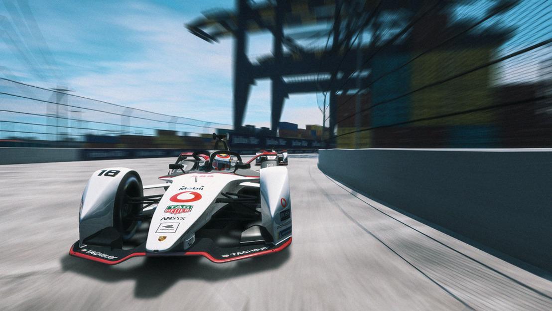 "ABB FIA Formula E Championship 2019/2020, Round 2 ""Race at Home Challenge"""