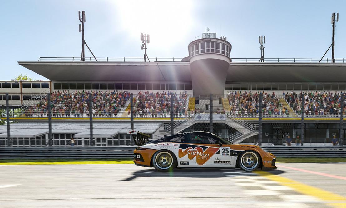 Porsche Mobil 1 Supercup Virtual Edition, races 7 + 8, Monza/Italy