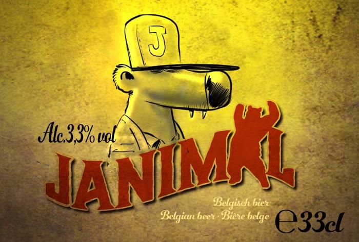 """Janimal: """"Te jong om bier te drinken, maar oud genoeg om te brouwen!"""""""
