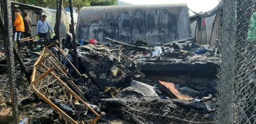 Samos, Grèce : réaction de MSF à la suite de l'incendie dans le camp de Vathy sur l'île de Samos