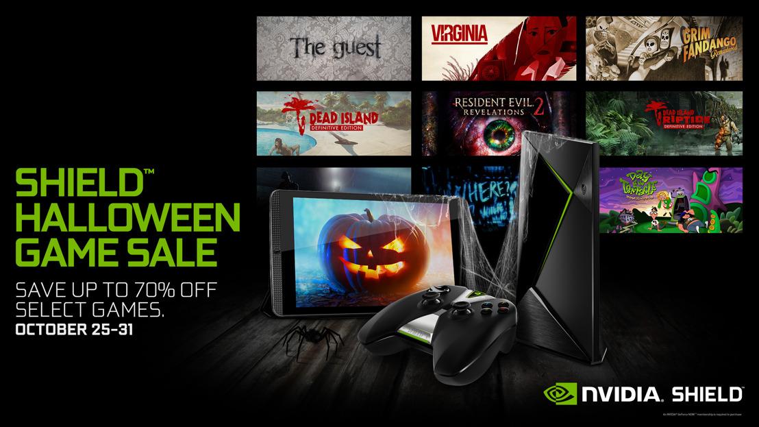 NVIDIA feiert Halloween - mit einem gespenstischen SHIELD-Halloween-Game-Sale!