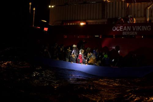 Actualización de la situación a bordo del Ocean Viking