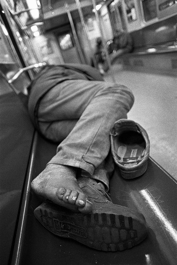 Anoniem, New York, 1993 © Stephan Vanfleteren