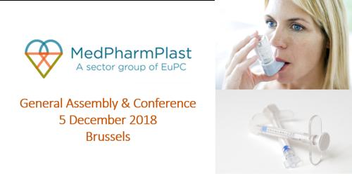 Preview: Final Programme confirmed - MedPharmPlast Europe GA & Conference on 5 December 2018 in Brussels
