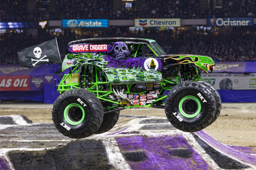 Monster Jam® returns to Mercedes-Benz Stadium for an action-packed weekend of full throttle family fun on February 22-23