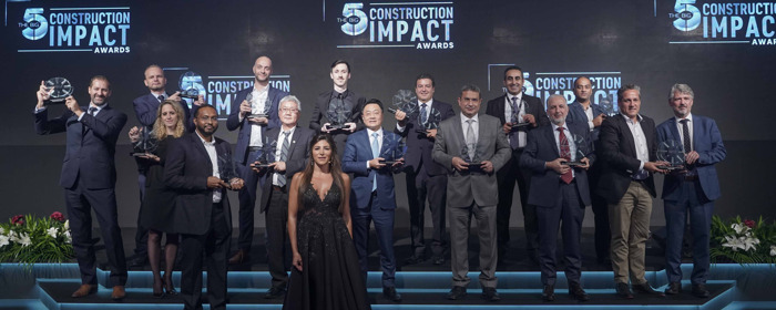 INAUGURAL DUBAI AWARDS SHOWCASE INNOVATORS IN THE MIDDLE EAST'S CONSTRUCTION INDUSTRY