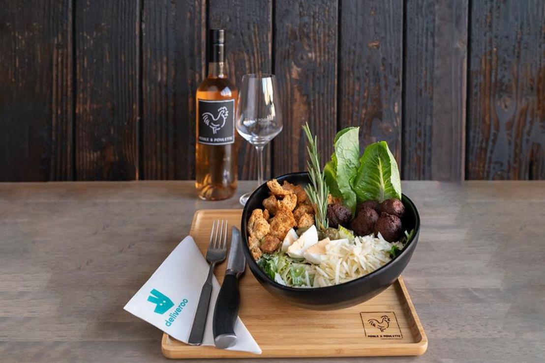 38 restaurants proposent une offre végétarienne pendant 1 semaine grâce à Greenway & Deliveroo