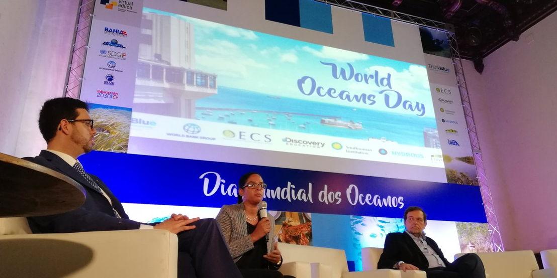 Project Coordinator of the Caribbean Regional Oceanscape Project (CROP) Susanna DeBeauville-Scott