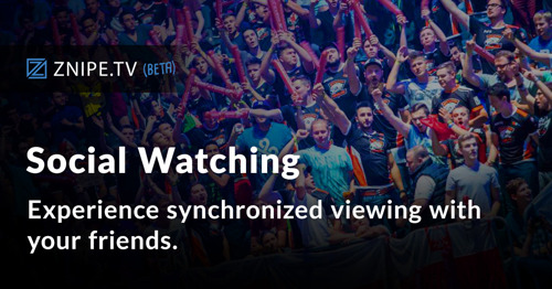 """ZNIPE TV RELEASES """"SOCIAL WATCHING"""""""