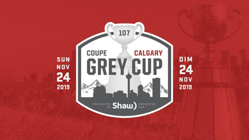 GREY CUP MEDIA SCHEDULE: SUNDAY, NOVEMBER 24