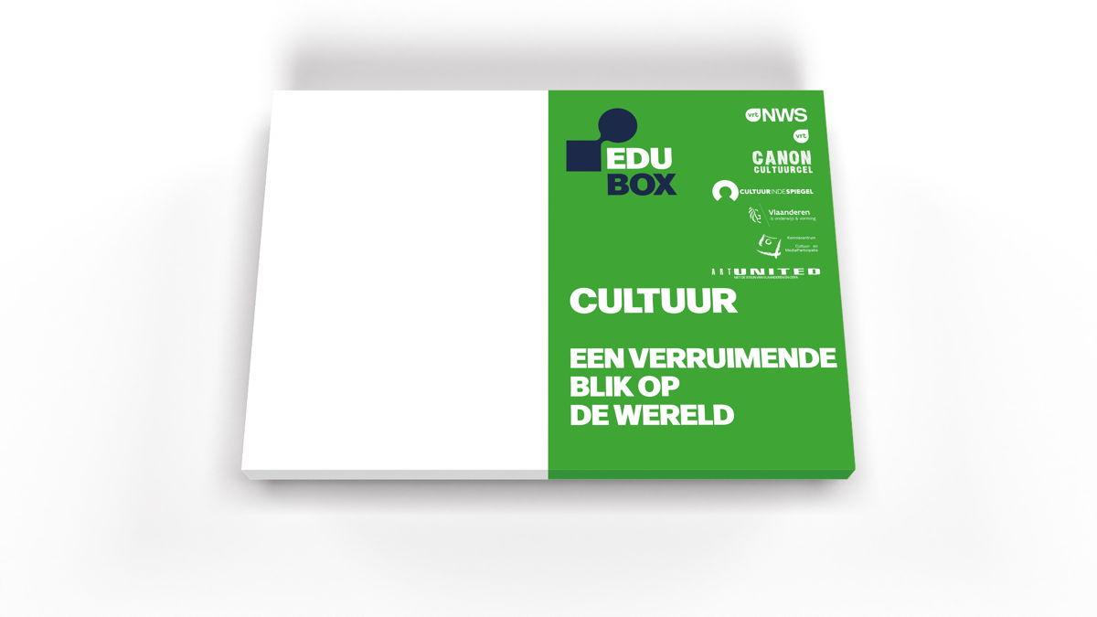 Conceptuele voorstelling van de EDUbox Cultuur.