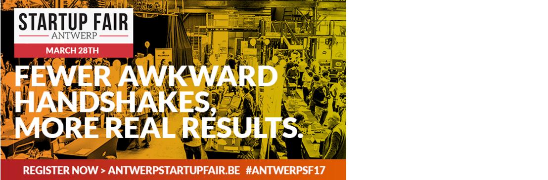 Antwerp Startup Fair brengt start-ups samen met investeerders, aankopers en werknemers