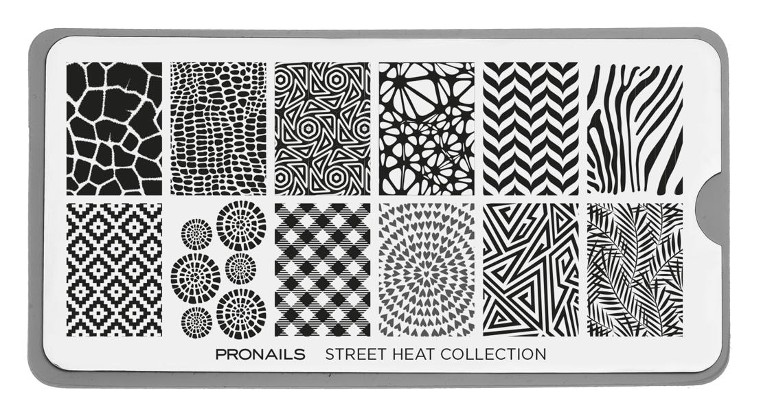 Stamping Plate Street Heat Collectie 14,50€