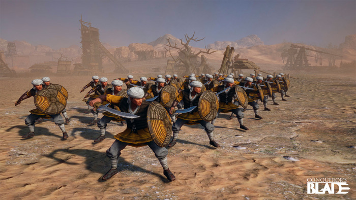 Preview: CONQUEROR'S BLADE FIELDS THE RATTAN RESISTANCE UPDATE!