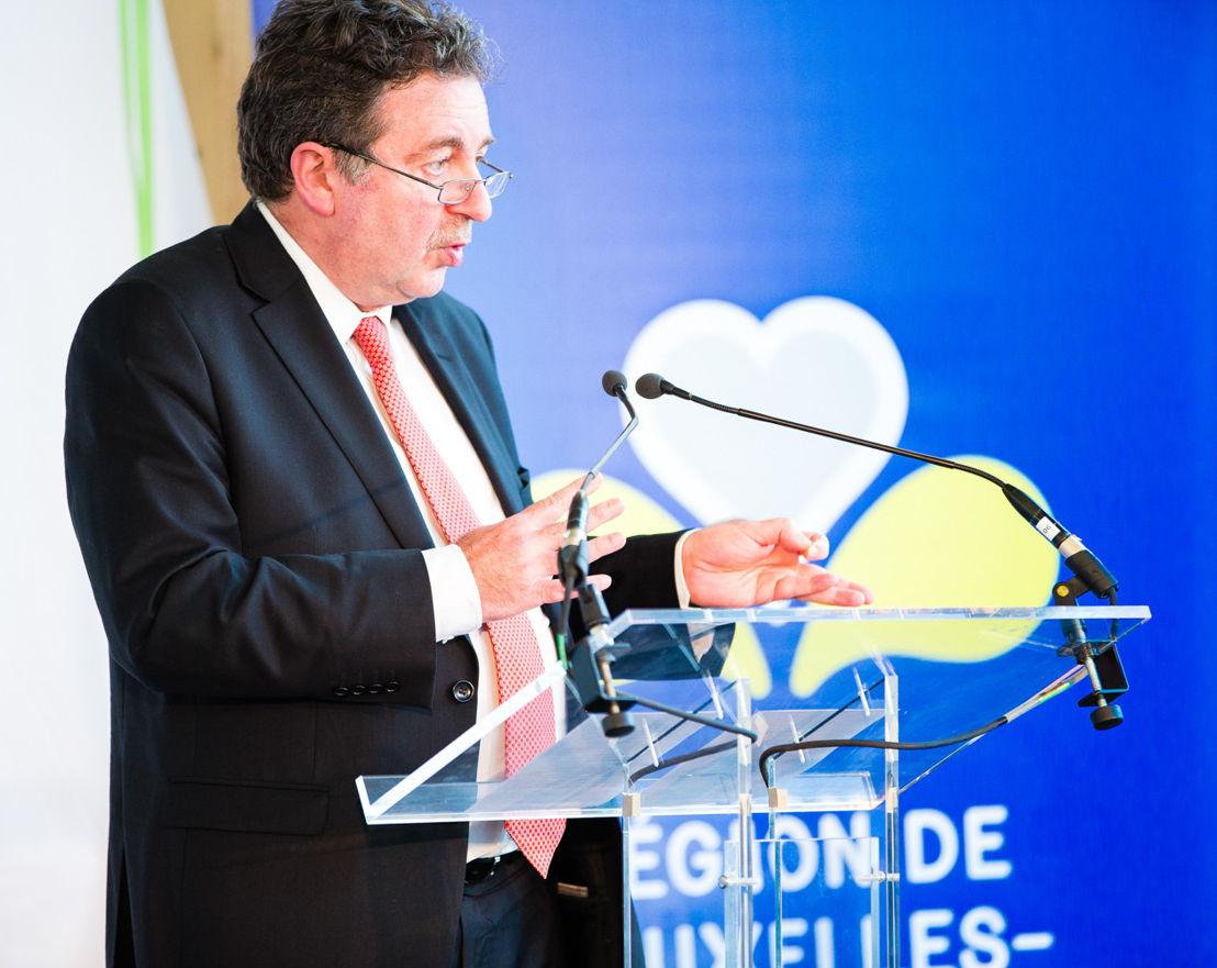 Rudi Vervoort, minister-president van het Brussels Hoofdstedelijk Gewest