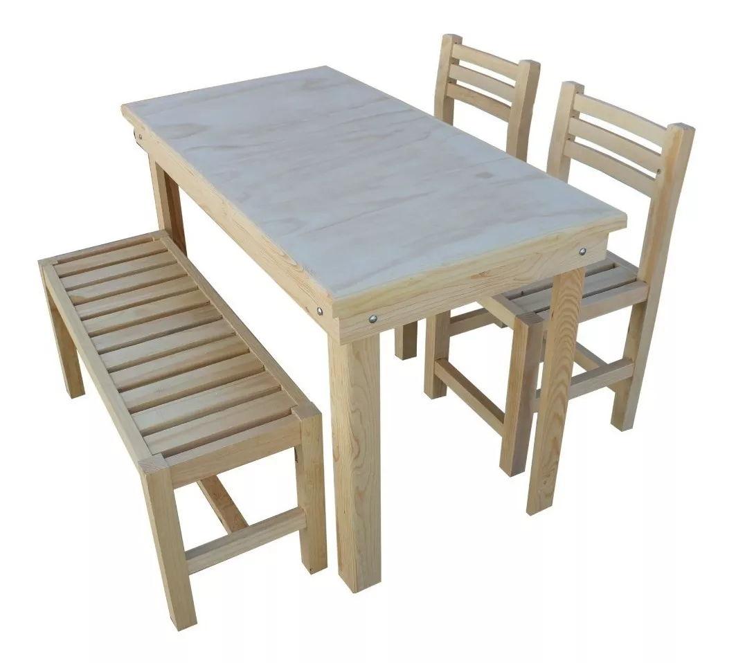 Comedor de madera