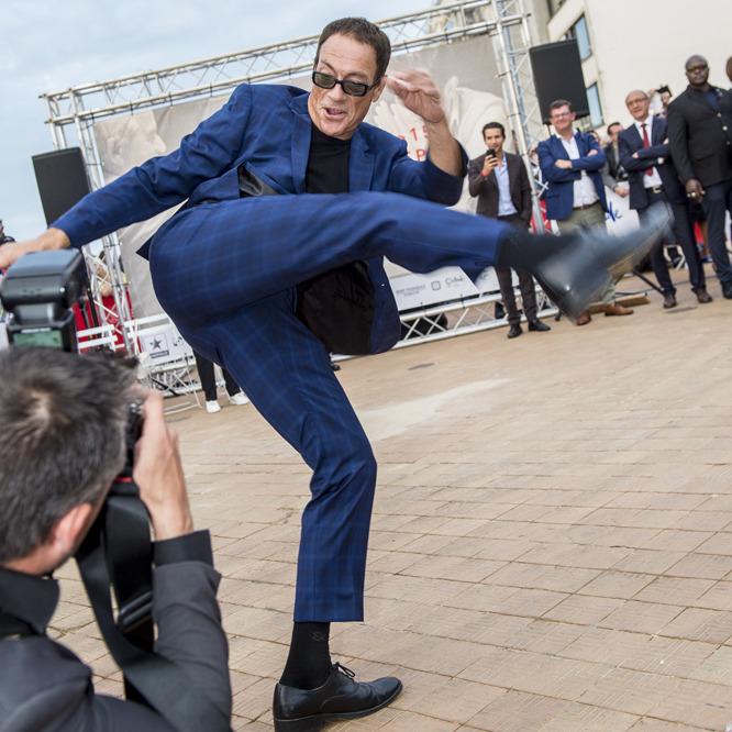 Jean-Claude Van Damme verovert Filmfestival Oostende
