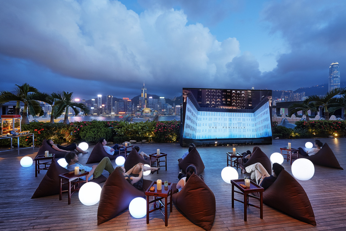 "EL SÉPTIMO ARTE COBRA VIDA EN THE PENINSULA HONG KONG GRACIAS A ""MOVIES UNDER THE STARS"""