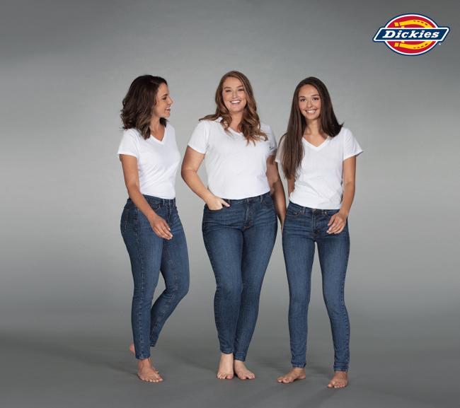 Dickies: Las mujeres llevan los pantalones