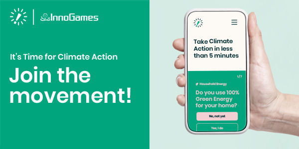 Preview: InnoGames supports Leaders for Climate Action in engaging 50 million people in climate action