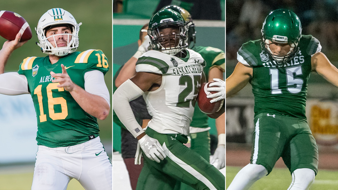 FB: Bears, Huskies honoured as Week 4 matchup looms