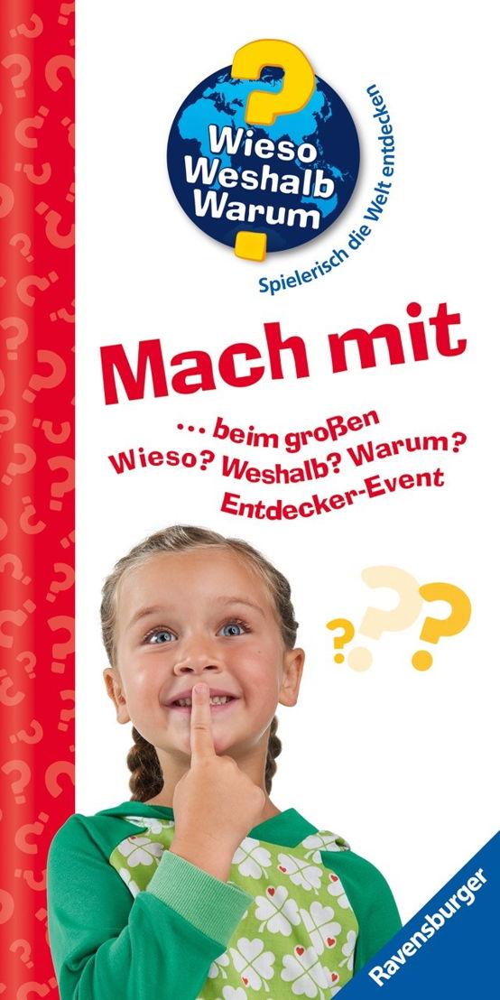 Die Entdecker-Events garantieren Spannung und Spaß für jedes Alter und das Ganze bei freiem Eintritt. Copyright: Ravensburger