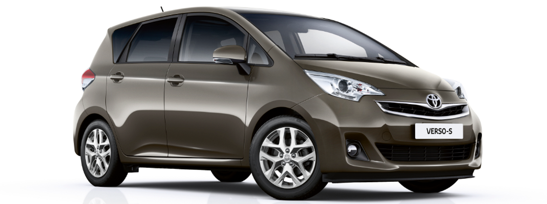New look for the 2015 Toyota Verso-S