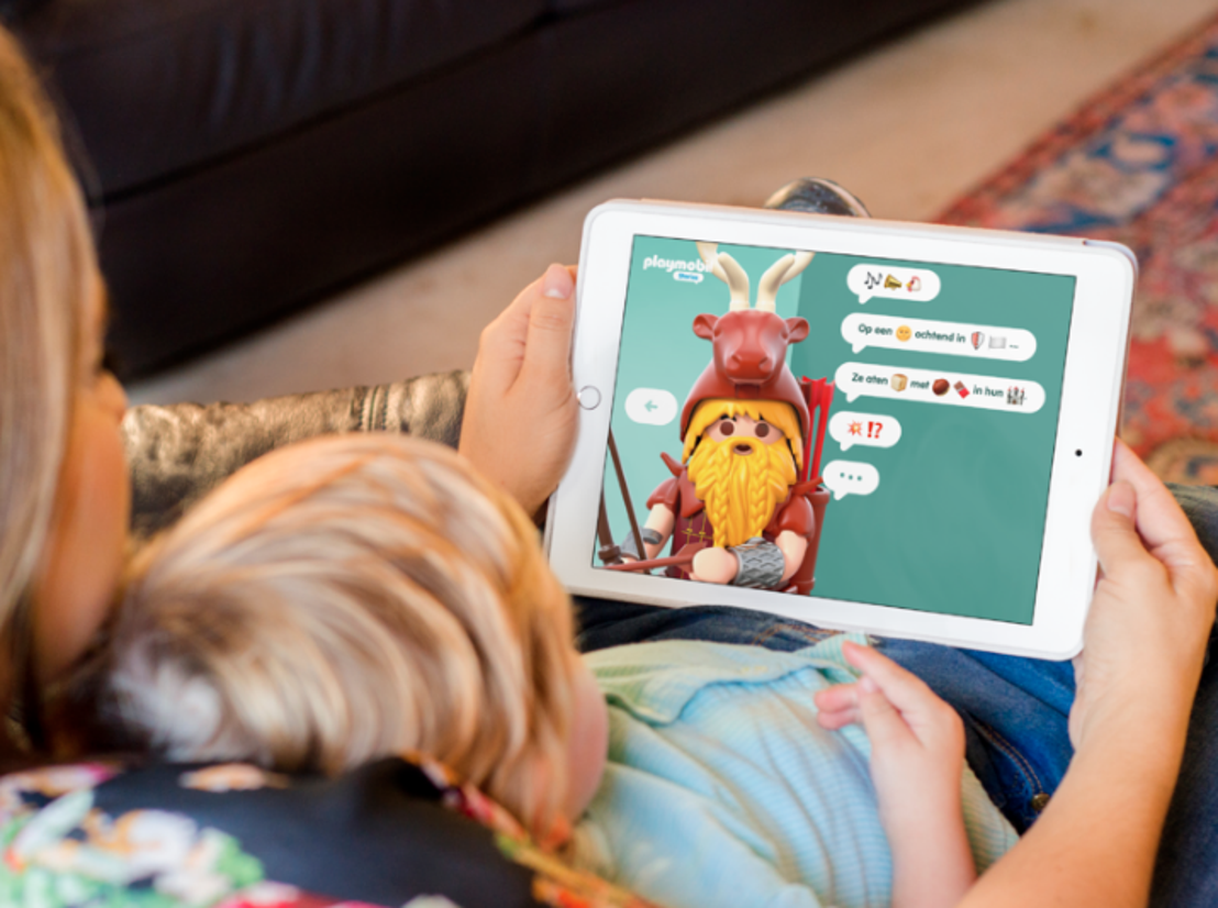 PLAYMOBIL® België lanceert interactieve luisterverhalen om creativiteit en taalontwikkeling van kinderen te stimuleren