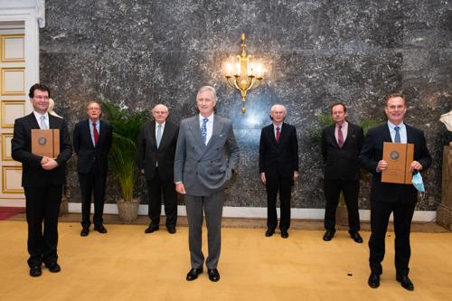 Le Roi Philippe a décerné deux prix Francqui-Collen à Bart Loeys (UAntwerpen) et Cédric Blanpain (ULB)