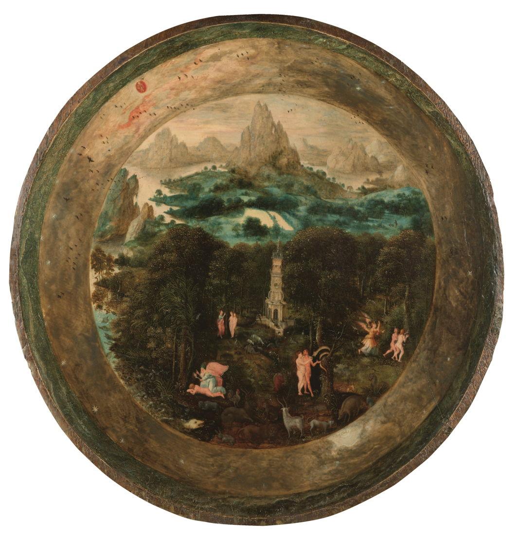 À la recherche d&#039;Utopia © Herri met de Bles, Le Paradis terrestre, Anvers, vers 1541–1550<br/>Amsterdam, Rijksmuseum.