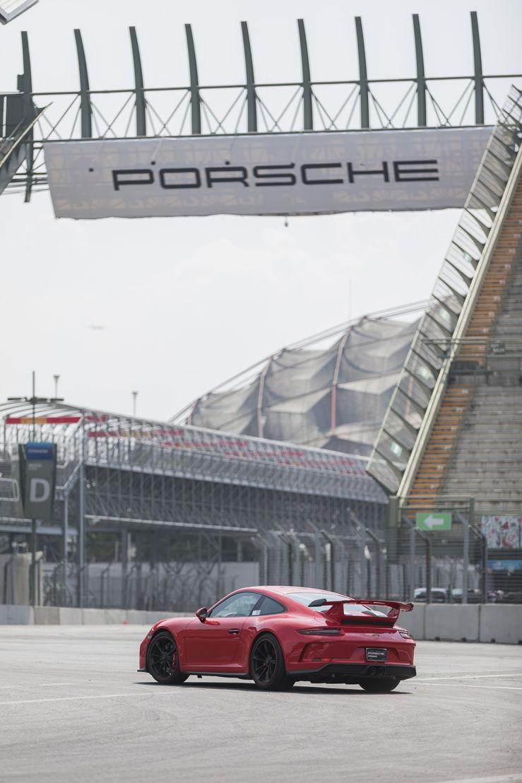 El Autódomo es el hogar del Nivel Master S del Porsche Sport Driving School en México